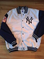 Vintage New York Yankees White Jacket Russell Athletics