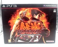 TEKKEN 6 STICK ARCADE BUNDLE HORI SONY PLAYSTATION 3 PS3 ESPAÑA.SEALED NUEVO
