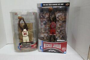2 Upper Deck Pro Shots Michael Jordan 1998 Winning Shot & Jordan I (A)