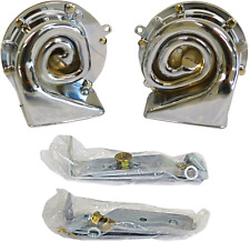 1962-72 Impala, 64-72 Chevelle Horn High/Low Chrome Plated w/mounting Bracket