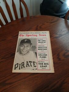 JULY 8,1967-THE SPORTING NEWS-BOB VEALE OF THE PITTSBURGH PIRATES(MINT)