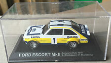 "DIE CAST "" FORD ESCORT MkII ACROPOLIS RALLY - 1979 "" Rally DEA SCALE 1/43"