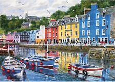 Gibsons Tobermory 1000 Piece Scottish Highlands Jigsaw Puzzle