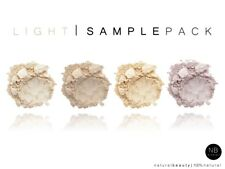 4 muestras Luz Skin Mbs Natural minerales Fundación silk/matte, la cobertura total