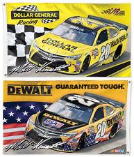 MATT KENSETH #20 NASCAR Toyota Camry Huge 3'x5' 2-Sided DELUXE 2016 NASCAR FLAG