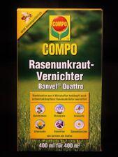 Compo Rasenunkraut-Vernichter Banvel Quattro 400 ml Unkrautex Rasenherbizid Konz