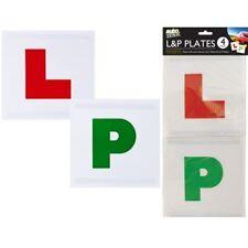 4pc Magnet P Sicherheits Schild Platten Neu Auto Fahrschüler Pass' Geeignet