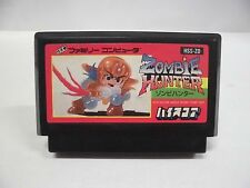 NES -- Zombie Hunter -- Famicom. Action. Japan game. Work fully!! 10328