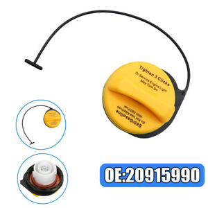 1x Fuel Tank Gas Caps Yellow FIT FOR 20915990 Cadillac Chevrolet GMC GT295