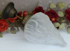 Jugendstil Deckenlampe Leuchte Hängelampe Glas Messing Lampe Antik Art deco Neu