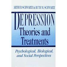 Depression: Theorien und Behandlungen: psychologische, Bio-Hardcover NEU Arthur SC