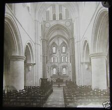 Glass Magic Lantern Slide ST CROSS CHURCH WINCHESTER C1890 L101