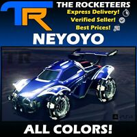 [PS4/PSN] Rocket League Every Painted NEYOYO Vindicator Crate Exotic Wheels
