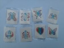 20 Glitter Temporary Tattoos Children's Girls Birthday Party Loot Bags Favours