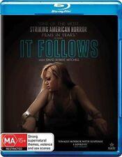 *Brand New & Sealed*  It Follows (Blu-ray, 2015) Horror Movie