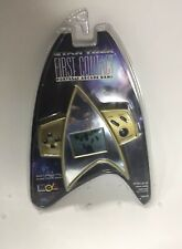 STAR TREK FIRST CONTACT PORTABLE ARCADE GAME NEW 1996 HANDHELD ELECTRONIC GAME