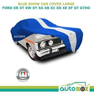 Autotecnica Blue Show Car Cover Ford XR XT XW XY XA XB XC XD XE XF GT GTHO Large