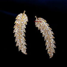 Feather Simulated Drop/Dangle Fashion Earrings