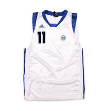 Adidas Herren Trikot Jersey Gr.S Alba Berlin #11 Basketball Weiß 95943