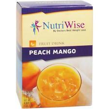NUTRIWISE | Peach Mango High Protein Diet Fruit Drink | Zero Sugar, Low Calorie