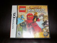 LEGO Battles: Ninjago (Nintendo DS, 2011) EUC