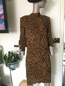 GIVENCHY BOUTIQUE VINTAGE DRESS/SUPERBE ROBE GIVENCHY BOUTIQUE TAILLE 38/VINTAGE