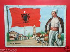 figurines cromos cards figurine sidam gli stati del mondo 35 albania bandiere ss