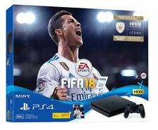 Sony PlayStation 4 Slim Fifa 18 BUNDLE CONSOLE 500GB Matte Black