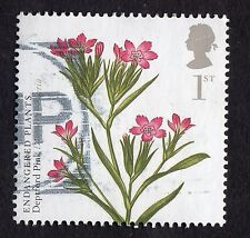 GB: Action for Species (Plants); fine used Deptford Pink single value only