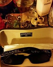 CHANEL Vintage Crystal Sunglasses 5060-B Black