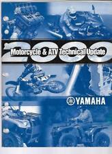 2000 Yamaha Motorcycle / Atv Technical Update Manual Lit-17500-00-2K