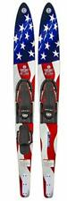"""Celebrity Combo Water Skis, Flag, 68"""""""