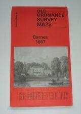 Barnes 1867 - Old Ordnance Survey Maps - London
