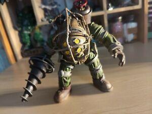 "NECA, Bioshock - Big Daddy Figure 7"" ~ Complete ~ Rare!! ~ Loose"