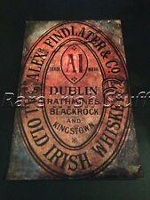 Alex Findlater & Co - Rathmines Blackrock Dalkey Dublin Irish Whiskey Print