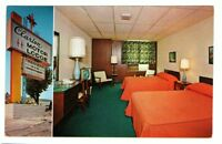 Undated Unused Postcard Clarion Motor Lodge Downtown Clarion Pennsylvania PA