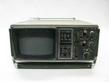Vintage Unisonic XL-911B Portable Black/White TV/AM-FM Radio *See Notes*