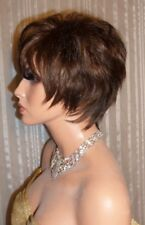 Drag Queen Wig Short and Sassy Dark Brown