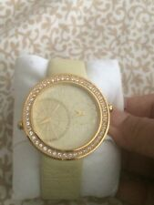 ELLE Watch - Style20038S25C -JETLAG Swarovski Crystal Band Dual Time With Ruby