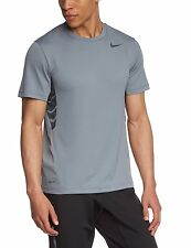 Nwt Nike Mens Vapor Dri-Fit Short Sleeve Top - Gray - Szs Sm Med 644301/037 $40