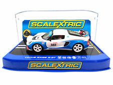 "Scalextric ""Lotus Motorsports"" Lotus Exige R-GT Lights DPR 1/32 Slot Car C3520"