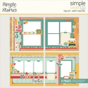 Simple Stories Simple Pages Page Kit-Happy Together
