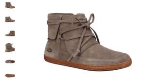 UGG Reid Slate Moccasin Boot Bootie Women's US sizes 5-12/NEW