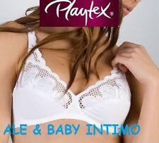 Reggiseno Donna Playtex Art Ap06176-ap06177 colore a scelta Bianco Coppa C 38