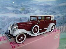 1/43 Rio (Italy) Isotta franchini 8a 1929 #67