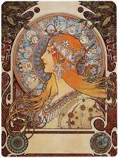 Alphonse Mucha Art Nouveau ZODIAC POSTER FOTO Segno zodiacale NUOVO poster stampa a3