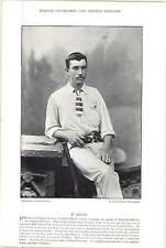 1895 Cricket DOUGLAS, J, Middlesex : BRUCE, W, Australia