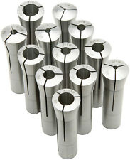 """New 28pcs R8 Round Collet Set 1/16"""" to 7/8"""" by 1/32th and 1"""""""