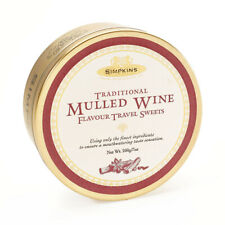 Simpkins Classic Mulled Wine Flavour Travel Sweets 200g Tin