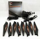 8x Antenna for Asus ROG Rapture GT-AX11000 Gaming Router + AC Adapter